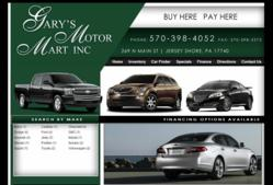 http://www.garysmotormartpa.com/